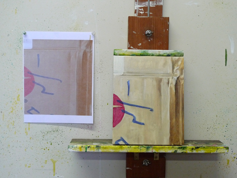 cardboard box 5 in process, 2012